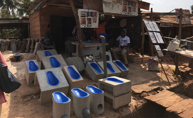 WASHPaLS examined sanitation enterprises in Nigeria supported by WaterAid Sustainable Total Sanitation intervention.