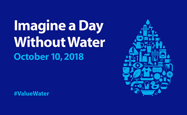 Tetra Tech participates in Imagine a Day Without Water Campaign