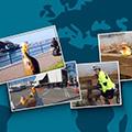 Les canards en plastique de Tetra Tech partout dans le monde entier