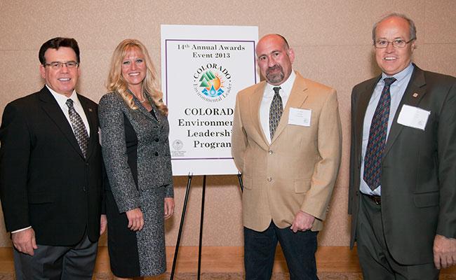 A Tetra Tech recebe a Premiação de Liderança Ambiental em Colorado
